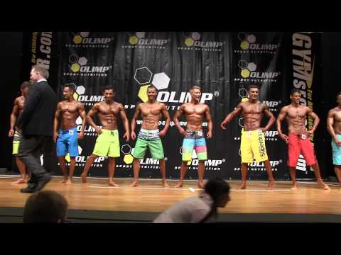 Deutsche Meisterschaft 2015 - Mens Physique II + III