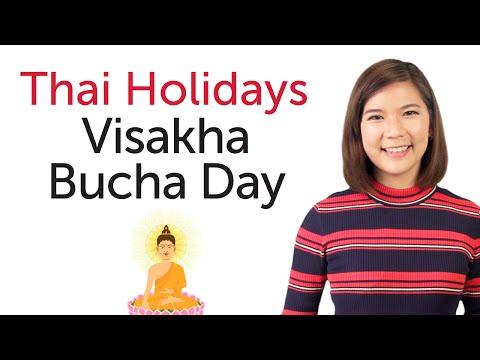 Learn Thai Holidays – Visakha Bucha Day - วันวิสาขบูชา
