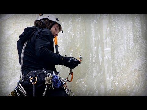 Breathe It In - Ice Climbingby: Aric Fishman
