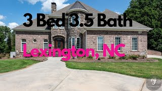 🚨Just Listed🚨 3 Bed 3.5 Bath in Lexington 231 Canoe Lane Lexington NC 27295