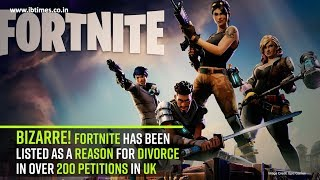 Fortnite video game caused over 200 divorces in United Kingdom