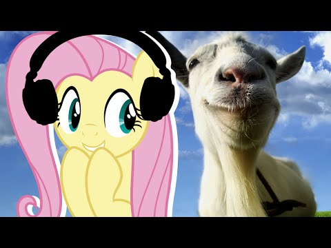 Fluttershy plays Goat Simulator 🍉 | Be Assertive!