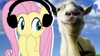 Fluttershy Plays Goat Simulator | Be Assertive!