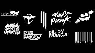 MEGA MIX Deadmau5,Tiësto,Skrillex,Daft Punk,Knife Party,Cookie Mosnta,Flux Pavilion,Doctor P