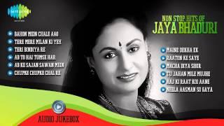 best of jaya bhaduri popular old hindi songs tere mere milan ki yeh raina  jaya bachchan