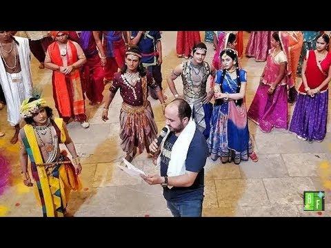 Radha Krishna Latest Behind the Scenes in Shooting....