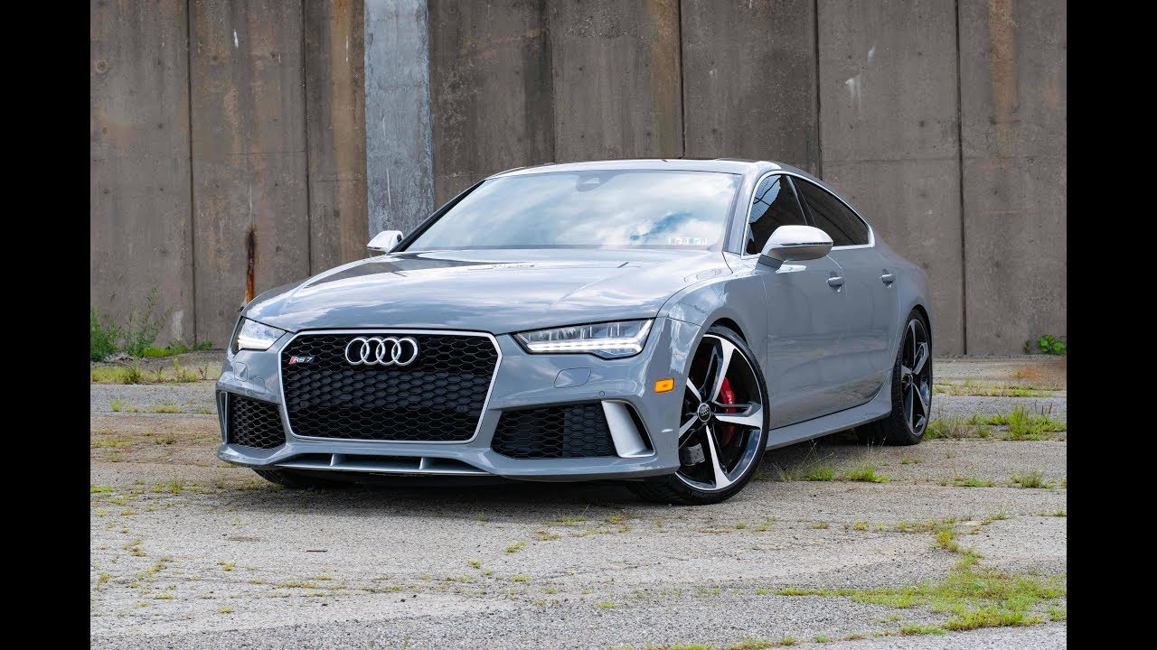 Nardo Gray 2017 Audi Rs7 With An Apr Ecu Tune Full Walk Around And Video Tour