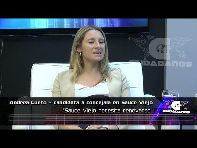 Andrea Cueto candidata a concejala en Sauce Viejo sobre el estado de la ciudad