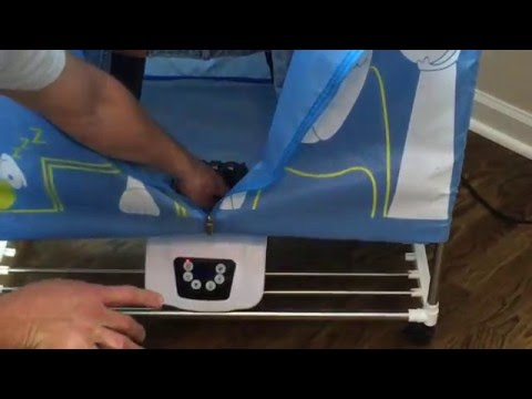 The Amazing Portable Clothes Dryer By MANATEE