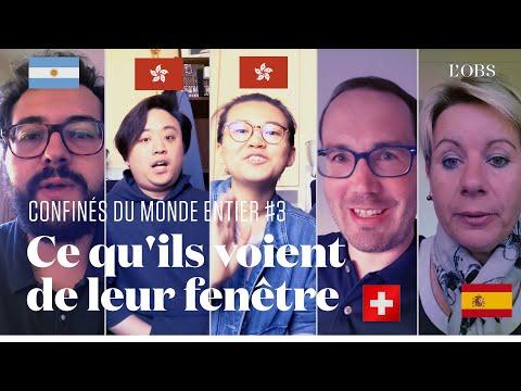 Confinés à Hongkong, Majorque, en Suisse et en Argentine: ce qu'ils voient de leurs fenêtres