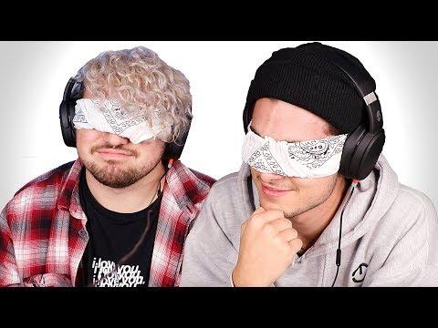 2 BOYS GUESS ASMR SOUNDS BLINDFOLDED