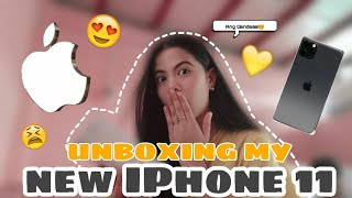 UNBOXING MY NEW CELLPHONE IPHONE 11!!? (ANG GANDAA😍) | Mae Ellorenco