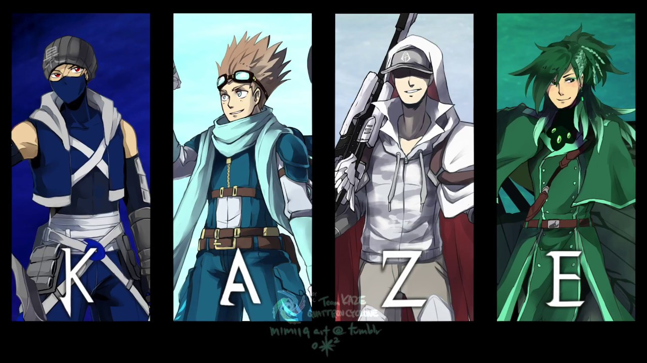 Top 7 Favorite Fan Made RWBY Teams