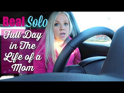A REAL SOLO FULL DAY IN THE LIFE OF A PREGNANT MOM OF TWO TODDLERS 2018 // LIFE UPDATES