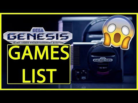 Sega Genesis Mini Games Announced thumbnail