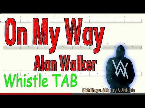 on-my-way---alan-walker---tin-whistle---play-along-tab-tutorial