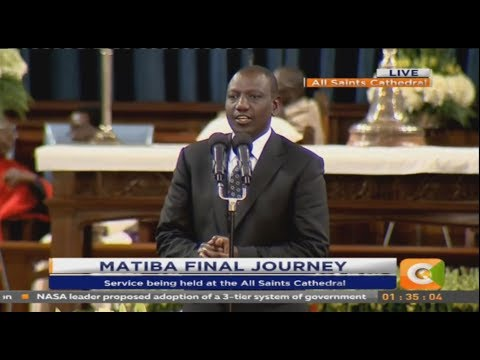 DP Ruto's tribute to Kenneth Matiba #RIPKennethMatiba