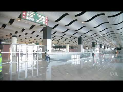 Senegal's Blaise Diagne International Airport (Aeroport International Blaise Diagne) finally opens