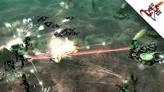 Command & Conquer 3 Tiberium Wars - 4v4 CRAZY BATTLES