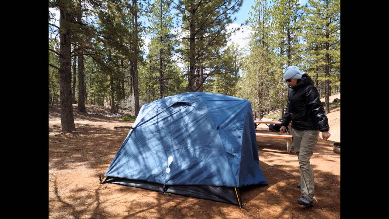 Eureka Car C&ing Tent set up Bryce Canyon & Eureka Car Camping Tent set up Bryce Canyon - YouTube