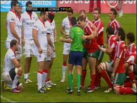 Rugby - European Nations Cup - 2012-14 - Portugal-Georgia
