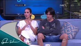 Vino Bastian dan Marsha Timothy bermain bersama di film Toba Dreams