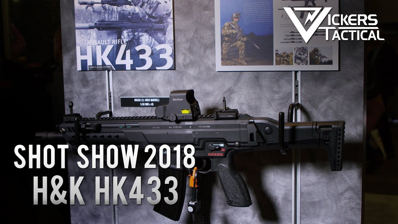 Heckler & Koch's New Combat Rifle Tries to Blend the Best