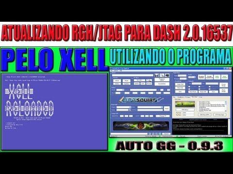 AutoGG-0.9.3 -ATUALIZANDO (RGH JTAG) DASH-16537 -PELO XELL
