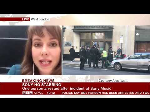 Incident at Sony Music HQ in Kensington - Alex Iszatt reports Mp3