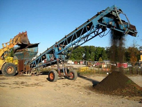 Powerscreen mk ii screening topsoil youtube for Soil for sale