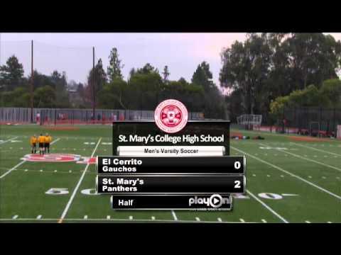 Boys Varsity Soccer-- St. Mary's vs El Cerrito
