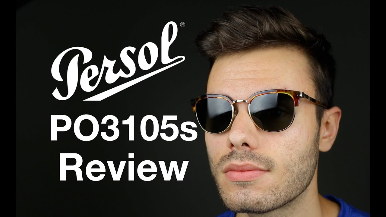 44900ae1137 Persol PO 3105s Cellor Series Review - YouTube