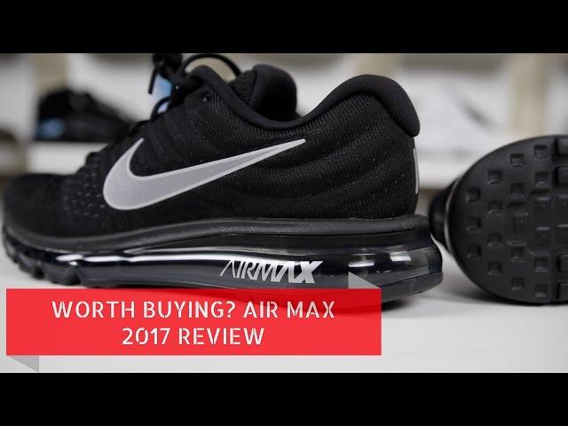 nike air max 2017 heren black