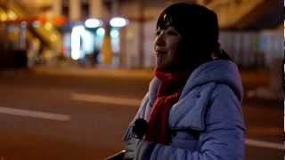 千晶「ヘッドライト・テールライト」カバー 大阪路上 2012.04.07 thumbnail