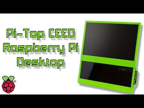 Raspberry pi Desktop Pi-Top CEED Unboxing And Assembly