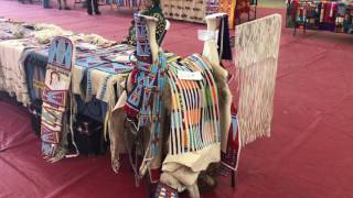 Apsaalooke Fine Beadwork and Art Show at Crow Native Days 2017