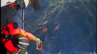 Video: Coast Guard Rescues 4 Fishermen, Dog From Ocean Viking Southwest Of Kodiak, Alaska