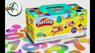 Learn to count with playdoh numbers | 1 to 10 |