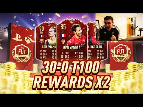 MY UNREAL 30-0 TOP 100 FUT CHAMPIONS WEEKLY REWARDS X2!! FIFA 20 PACK OPENING!! UCL & SCREAM PROMO!