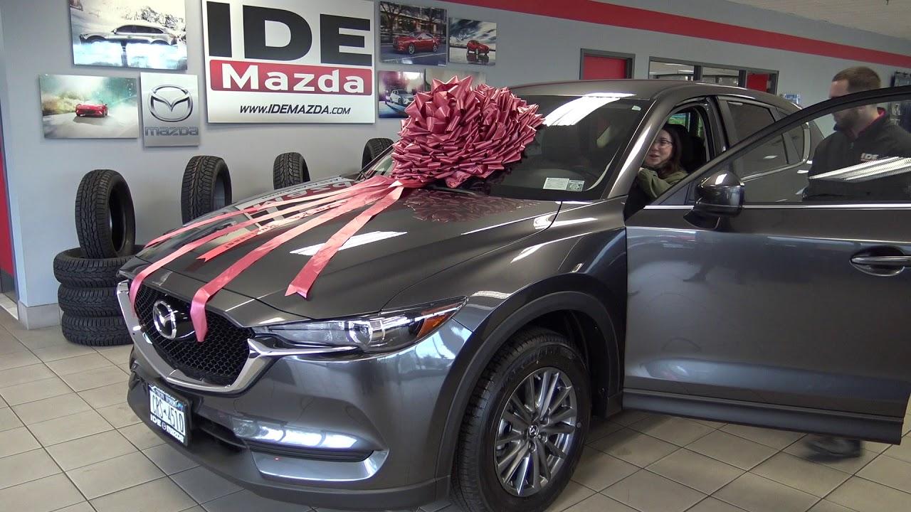 Ide Mazda Customer Testimonial Casey CX Rochester NY Car Dealer - Rochester car show