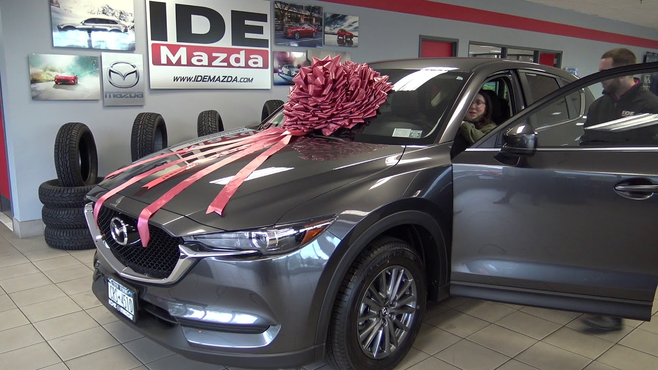 Ide Mazda Customer Testimonial Casey CX-5- Rochester, NY Car Dealer