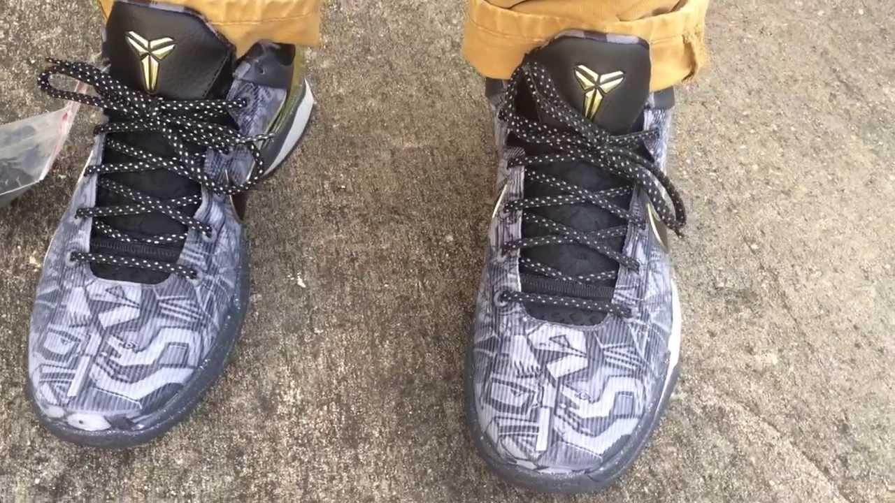 a03676dc3466 Nike Kobe 7 VII Prelude on feet - YouTube