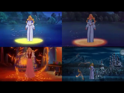 the swan princess all the transformations youtube