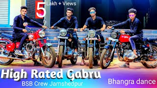 High Rated Gabru Dance choreography