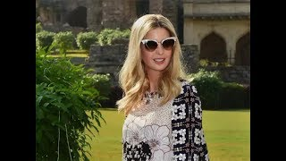 Ivanka Trump Visits Golconda Fort And Talks To Media About Her Visit To Hyderabad.