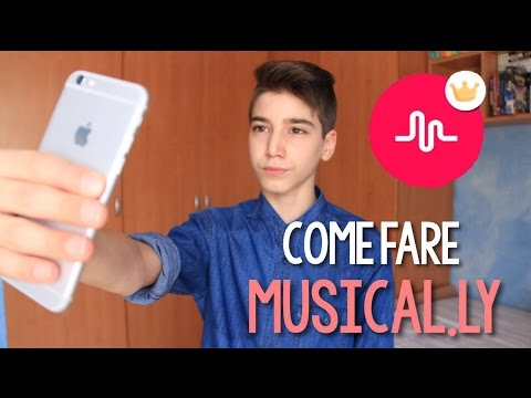 COME FARE MUSICAL.LY | Marco Cellucci