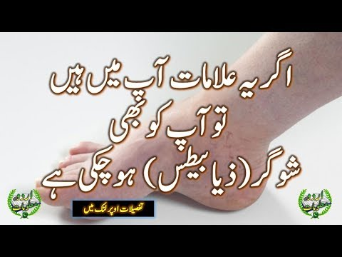 12 Symptoms of Diabetes in Urdu - Health Tips