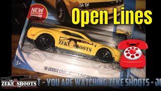 Zeke Shoots: OPEN LINES!