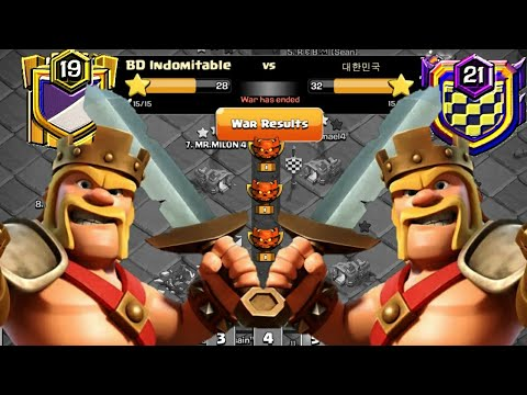 Clan War Leagues Attack - TH12 Attacks - Champion 1 - Round 5 (Season 7) | Clash Of Clans