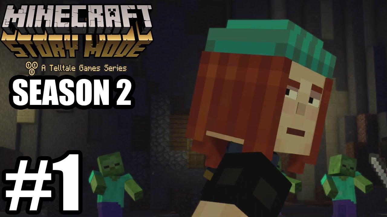 Minecraft Story Mode Season 2 Episode 1 Gameplay Walkthrough Part